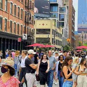 ニューヨーク 6月15日 復活記念日!ワクチン接種率 70%超達成で制限終了へ