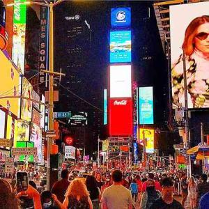 ニューヨーク夜景巡り タイムズスクエアから摩天楼の絶景が一望できるマンハッタンブリッジまで見どころ盛り沢山