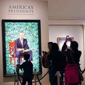 オバマ夫妻肖像画 ブルックリン美術館に期間限定で登場!DCナショナルポートレートギャラリー所蔵作品 全米ツアーへ