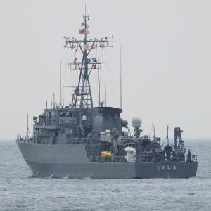 掃海艇604「えのしま」、チュッパチャップス回収