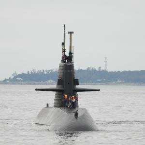 おやしお型潜水艦 発見
