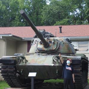 ベトナム戦争時代の戦車を見てきたよ!