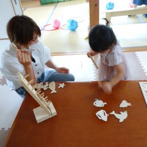 7月の親子ふれあい教室開講です