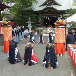 【秩父イベント情報】本日10/8(火) 皆野 椋神社 秋季例大祭(かがり火の獅子舞)のご紹介です