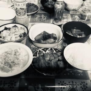 食卓に里芋が…12/13'19