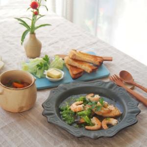 鮭とえびのスープ煮