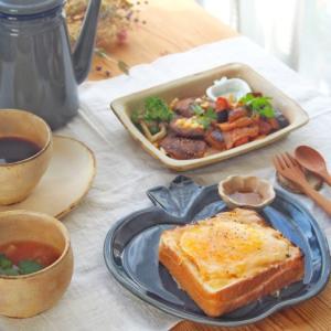 チーズトースト朝ごはん