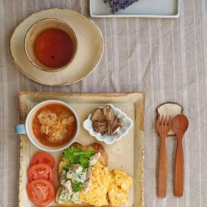 アボカドトースト朝ごはん