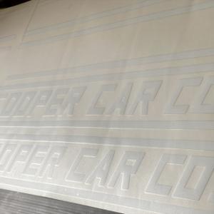 【 精密復刻 】 COOPER CAR CO / BMCワークス ボディストライプセット