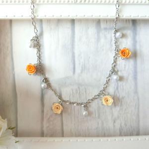 146色から選ぶロザフィバラのネックレス