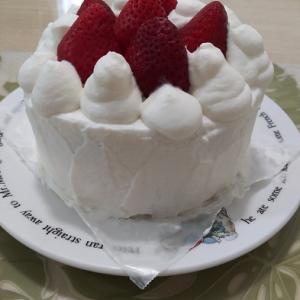 ズボラな父の日ケーキ♡(=^・^=)♪