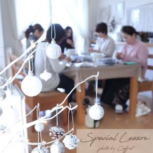 Xmas Special Lesson レポ♪
