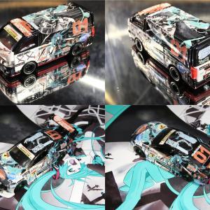 """【  TOYOTA 86 """"DBA-ZN6型"""" × ラブライブ!小泉花陽 WonderfulRush ver.2.0 ・・・から視る過去作成品と相方から視たデカール配置の関係性 】 最初に購入した痛車プラモデルは「1/24 キャラdeCAR~るシリーズ とある科学の超電磁砲/インプレッサWRX STI」で「2013年1月18日」だ!"""