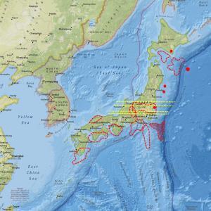 小規模地震が発生しやすい状況…