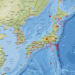 今度は岐阜県飛騨地方で群発地震…