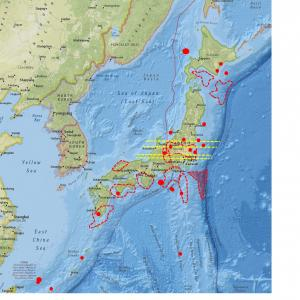 東北・関東・中部・近畿・九州では今後しばらく要注意…