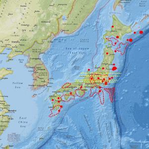 前回のブログ以降中規模地震発生。今後は…