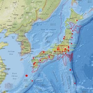 地震計数値は高いのに発震が少ない矛盾…