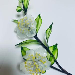 ジョイフルカルチャー     お正月花 制作