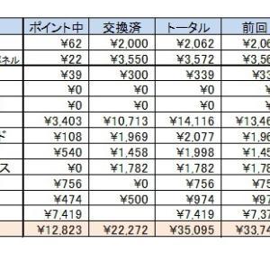 お小遣い集計結果 11月報告です(*^_^*)