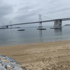 瀬戸大橋でお散歩したよ