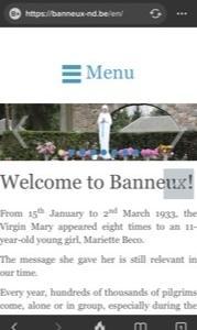 Banneux聖マリア様のところに
