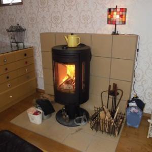 薪ストーブの暖房を各部屋に行き渡る工夫
