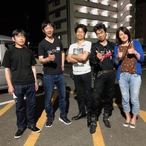 CROSS OVER JAPAN in 飯塚第三倉庫!