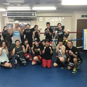 シェイプボクシング研修日曜日チーム