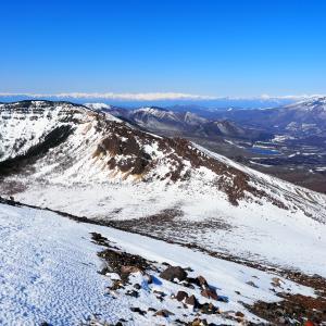 厳冬期の浅間山で雪を楽しむぞ!って登ってきたんですけど・・・