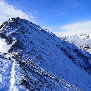 11月末、閉鎖前の扇沢から爺ヶ岳に雪山アタックを仕掛ける!!