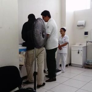 メキシコで予防接種★BCG