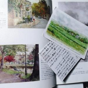 #3大阪講座15周年記念展に寄せて(九州の友からの絵葉書での不思議な縁・・・)