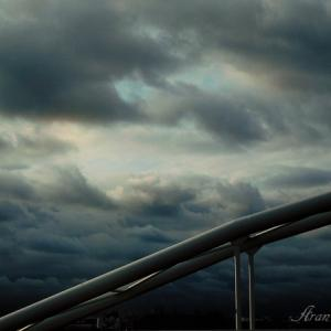 台風準備!里山光景と私の事情メモ