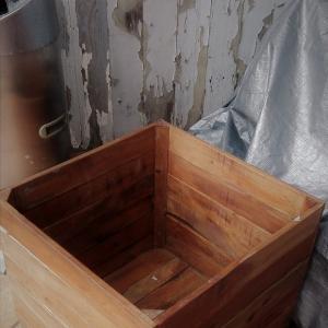 空っぽの箱