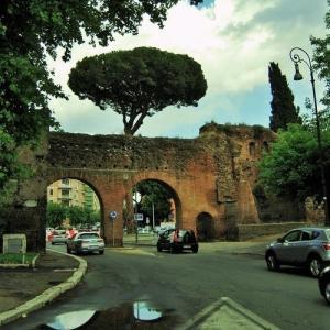 雨上がりのローマ 8年前の6月