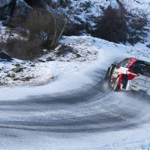 WRC Rallye Monte-Carlo 2021 Day 3