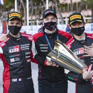 WRC Rallye Monte-Carlo 2021 Day 4