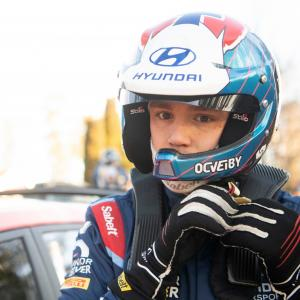 WRC2 driver Ole Christian Veiby ban from WRC this year