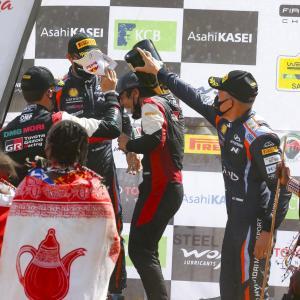 Katsuta scores incredible first WRC podium in Kenya