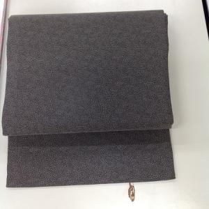 鮫小紋から九寸名古屋帯あがり~浴衣袖4枚切れも接ぎで~🎶
