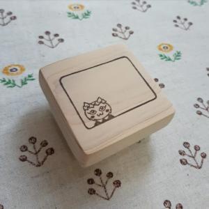 オーダー☆猫ちゃんのメモ枠はんこ