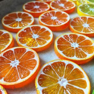 レジンでオレンジ・レモン・ライムなど柑橘類