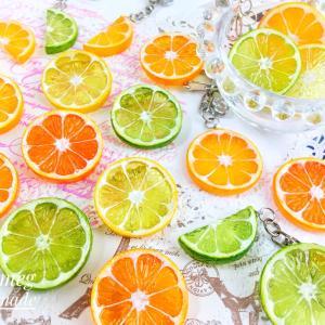 輪切りオレンジ・レモン・ライム!7月12日21時に出品予定です。