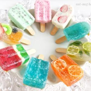 しゃりしゃり凍ったアイスキャンディーをレジンで作りたい!メイキング
