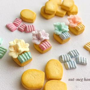 制作中のカップケーキクッキー