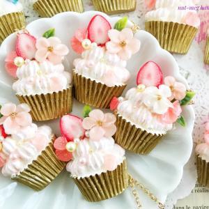 桜のカップケーキ第二弾