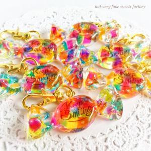 溢れる色彩、虹色カクテルキャンディなど新作出品です