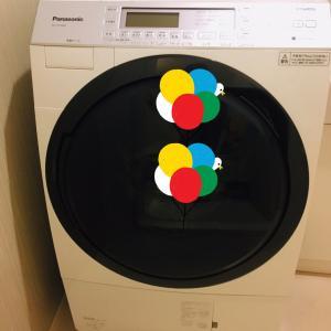 ドラム式洗濯機が届いた!
