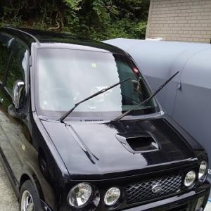 洗車&お買い物